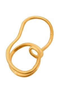Позолоченное кольцо на два пальца Joidart Barcelona