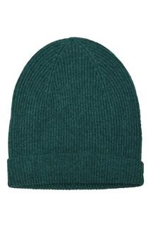 Зеленая шапка из кашемира Chilton Isabel Marant