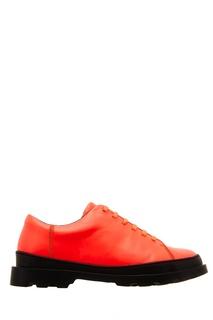 Розовые ботинки с контрастной подошвой Camper
