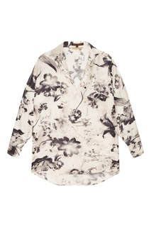 Блузка с цветочным принтом Adolfo Dominguez