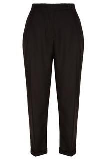 Укороченные черные брюки Akhmadullina Dreams