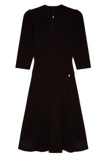 Черное платье-миди Akhmadullina Dreams