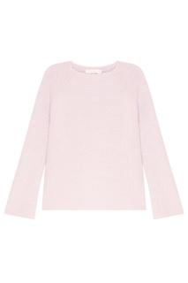 Розовый джемпер из шерсти Amina Rubinacci
