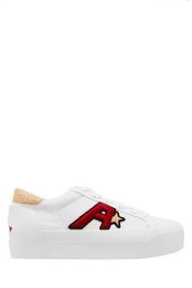 Белые кеды Boogie Ash