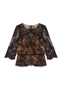 Кружевная блузка Marchesa