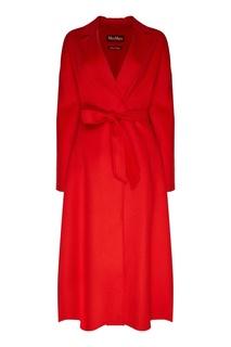 Красное однобортное пальто Notizia MAX Mara