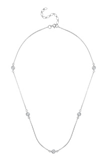 Серебряное колье с инкрустацией Serebriciti Jewelry