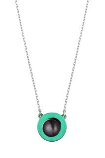 Колье с цветной подвеской Serebriciti Jewelry