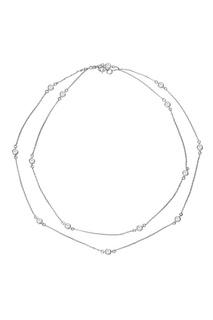 Серебряное колье с фианитами Serebriciti Jewelry