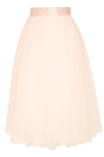 Пышная розовая юбка миди T Skirt