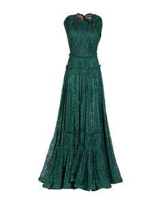 Длинное платье Lanvin