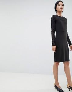 Облегающее платье Gestuz Sanna - Черный