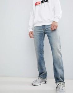 Свободные джинсы скинни Diesel Larkee 084UK - Синий