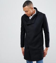 Черное пальто с высоким воротником Religion tall - Черный