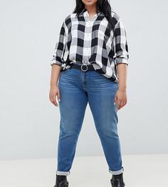 Выбеленные моделирующие джинсы скинни Levis Plus 311 - Синий