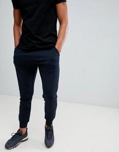 Темно-синие спортивные брюки New Look - Темно-синий