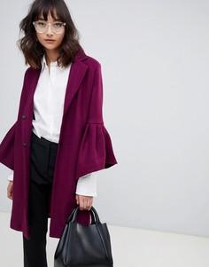 Пальто с рукавами клеш Unique 21 - Фиолетовый Unique21