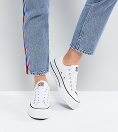 Белые кеды на платформе Converse Chuck Taylor All Star Ox - Белый