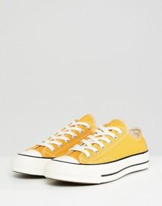 Кеды горчично-желтого цвета Converse Chuck 70 ox - Желтый