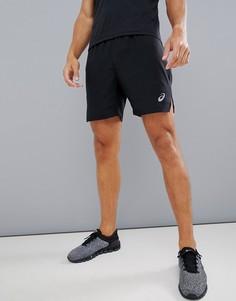 Черные шорты 2-в-1 Asics Running - Черный