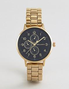 Позолоченные часы-браслет ASOS DESIGN - Золотой