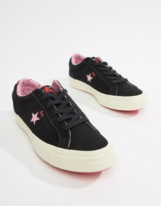 Кроссовки Converse X Hello Kitty One Star - Черный