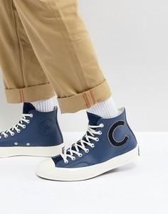 7ea61719c637 Темно-синие высокие кеды Converse Chuck Taylor All Star 70 159678C - Темно- синий