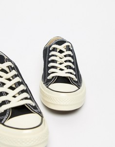 Черные кроссовки Converse Chuck 70 Ox - Черный