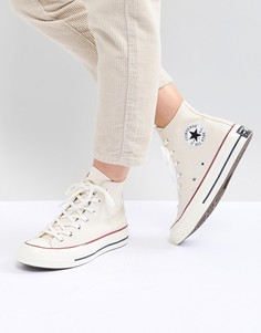 Высокие кроссовки кремового цвета Converse Chuck 70 - Кремовый