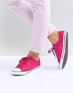 Розовые кроссовки Converse Chuck Taylor All Star Dainty ox - Розовый