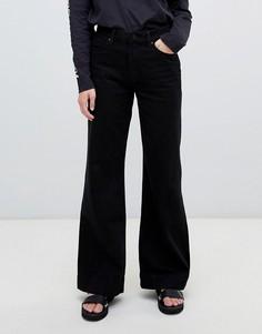 Расклешенные джинсы Waven - Черный