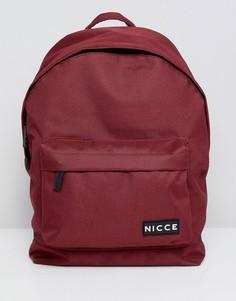 Красный рюкзак с логотипом Nicce - Красный