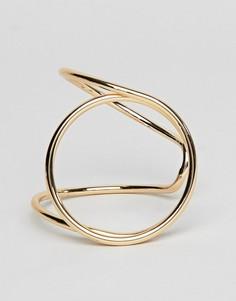 Массивный браслет Nylon - Золотой