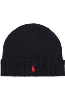 Шерстяная шапка Polo Ralph Lauren