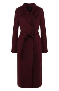 Шерстяное пальто с поясом Windsor