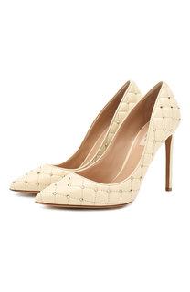 Кожаные туфли Valentino Garavani Rockstud Spike Valentino