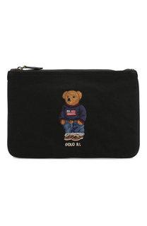 Клатч Bear с вышивкой Polo Ralph Lauren