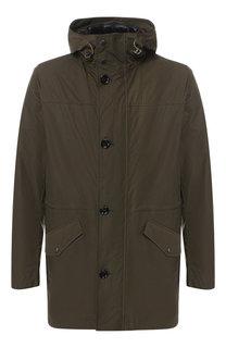 Куртка на молнии с капюшоном BOSS