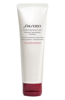 Пенка для глубокого очищения жирной кожи Internal Power Resist Shiseido