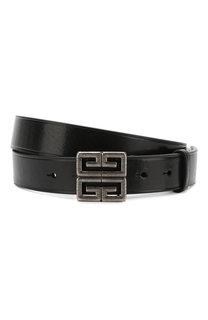 Кожаный ремень с металлической пряжкой Givenchy