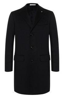 Однобортное пальто из кашемира Sartoria Latorre