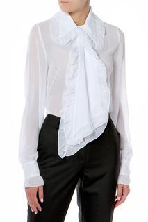 Блуза с рюшей Adzhedo