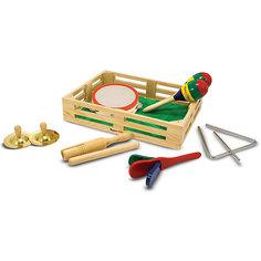 Музыкальные инструменты Melissa&Doug в коробке