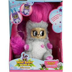 "Интерактивная мягкая игрушка 1Toy Bush baby world ""Пушистики"" Фрейлина Леди Лулу, 14 см"