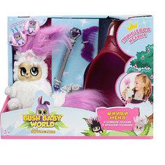 """Интерактивная мягкая игрушка 1Toy Bush baby world """"Пушистики"""" Принцесса Мелина, 18,5 см"""