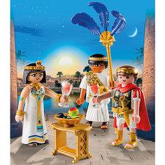 """Конструктор Playmobil """"Римляне и Египтяне"""" Цезарь и Клеопатра"""