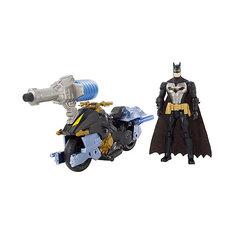 "Мотоцикл DC Super Heroes ""Batman"" с фигуркой Бэтмена, 15 см Mattel"