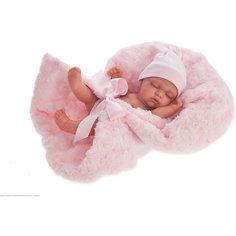 Кукла-младенец Juan Antonio Munecas Франциско в розовом, 26 см