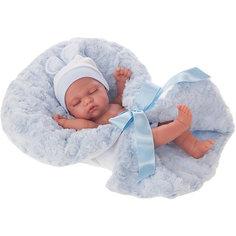 Кукла-младенец Juan Antonio Munecas Франциско в голубом, 26 см