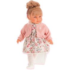 Кукла Juan Antonio Munecas Нина в розовом, 55 см